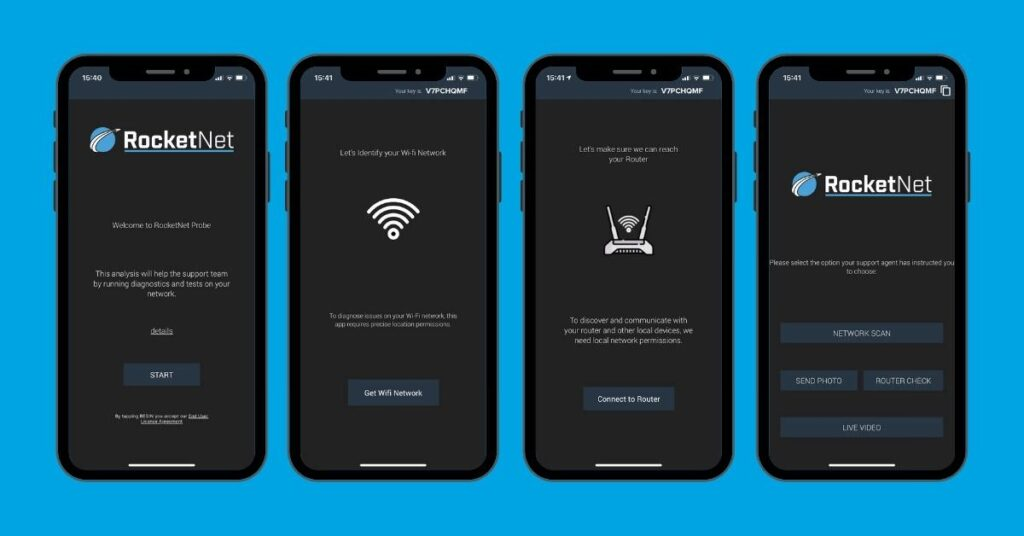How to get started fixing slow internet using the Probe app